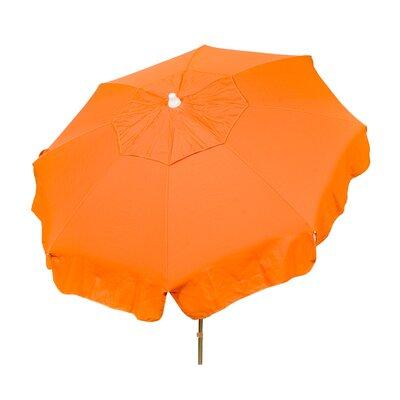 6 Italian Drape Umbrella Fabric: Orange