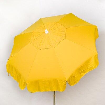 6 Italian Drape Umbrella Fabric: Yellow