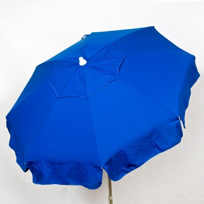 6 Italian Drape Umbrella Fabric: Blue
