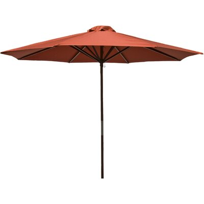 9 Market Umbrella Fabric: Chili