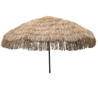 7.5 Palapa Market Umbrella Fabric: Whiskey