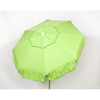 6 Italian Drape Umbrella Fabric: Lime