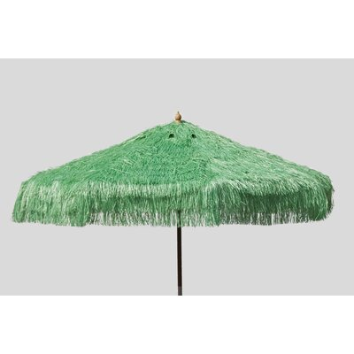 9 Palapa Market Umbrella Fabric: Lime