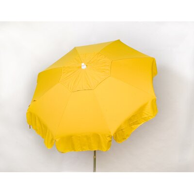 6 Italian Drape Umbrella Fabric: Yellow