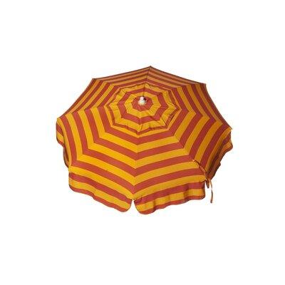 PARASOL 6' Italian Beach Umbrella - Fabric: Orange / Fuschia at Sears.com