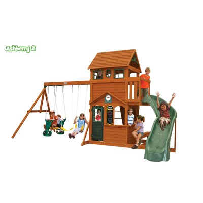 Big Backyard Ashberry II Wooden Play Set F23073
