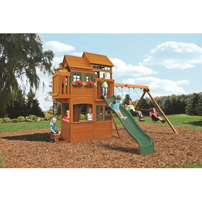 Big Backyard Somerset Lodge Play Set F23165