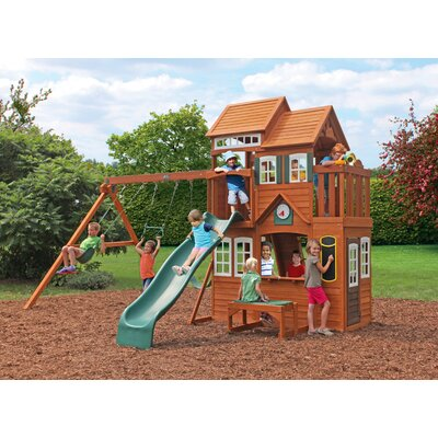 Big Backyard Mount Forest Lodge Play Set F25650