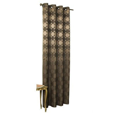 "Commonwealth Home Fashions Hologram Grommet Curtain Single Panel - Size: 95"" H x 52"" W, Color: Brown at Sears.com"