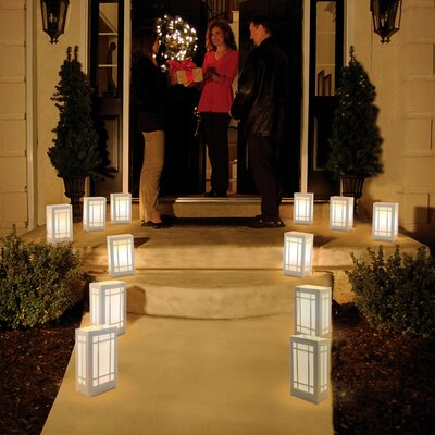 Luminarias 12 Count Battery Operated Luminary Kit with Lantern Design at Sears.com