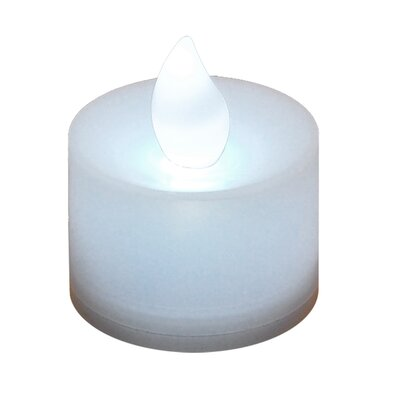 Luminarias LED Tea Lights (Set of 12) - Color: White