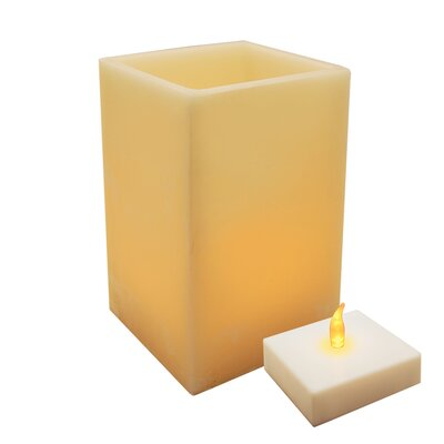 Luminarias Wax Luminaria with Battery Operated LumaLite at Sears.com