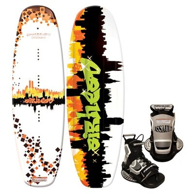 Buy Low Price Airhead Graffiti City Wakeboard with Assault Binding (AHW-3017)