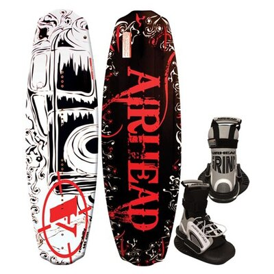 Image of Airhead Rockabilly Wakeboard with Grind Binding (AHW-5016)