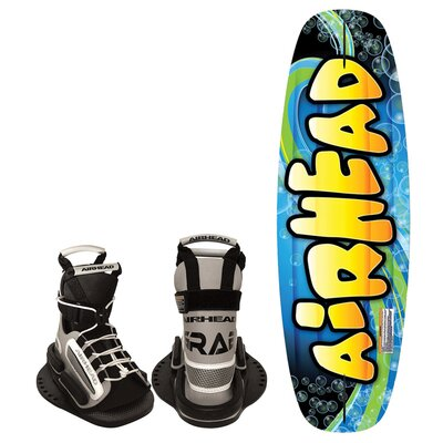 Buy Low Price Airhead Splash 124cm Youth Wakeboard with Grab Youth Bindings (AHW-1025)