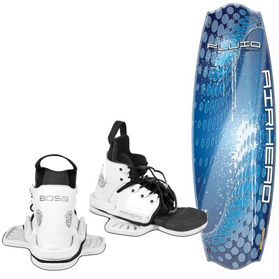 Image of Airhead Fluid 134cm Wakeboard with Boss Performance Bindings (AHW-40210)