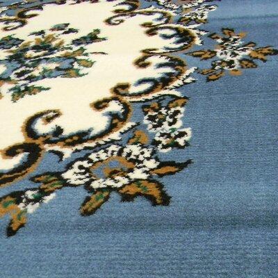 TajMahal Blue Oriental Area Rug