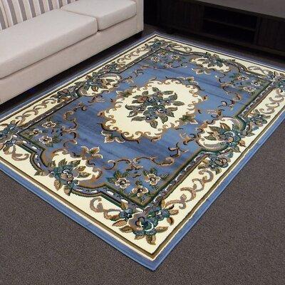 TajMahal Blue Oriental Rug
