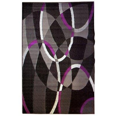 Trendz Gray/Purple Area Rug
