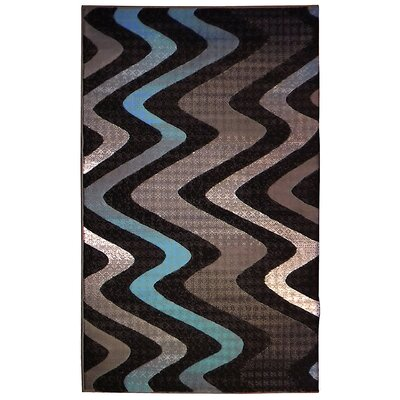 Trendz Gray/Blue Area Rug