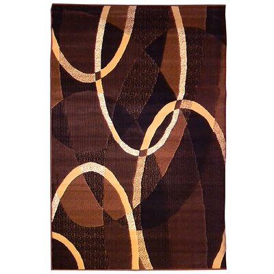 Trendz Brown/Black Area Rug