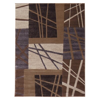 Mystiq Chocolate Area Rug