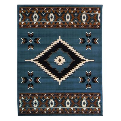Taj Mahal Light Blue Area Rug