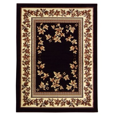 Taj Mahal Black Area Rug