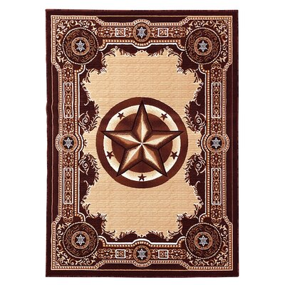 Brown/Beige Area Rug