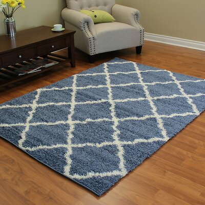 Deluxe Blue Area Rug