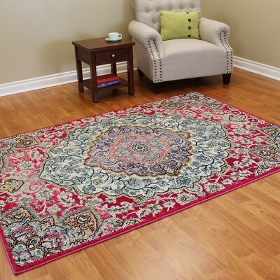 Expressions Cherry Red Area Rug