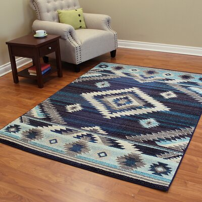 Expressions Storm Blue Area Rug