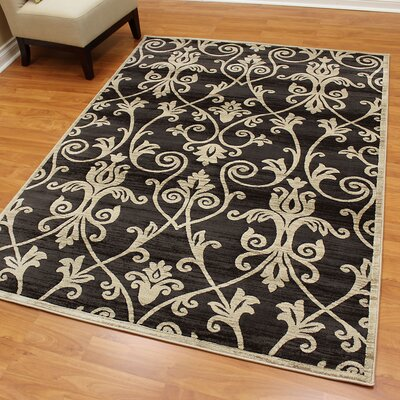 Cambridge Floral Ash Area Rug