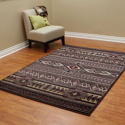 Cambridge Southwest Brown Area Rug
