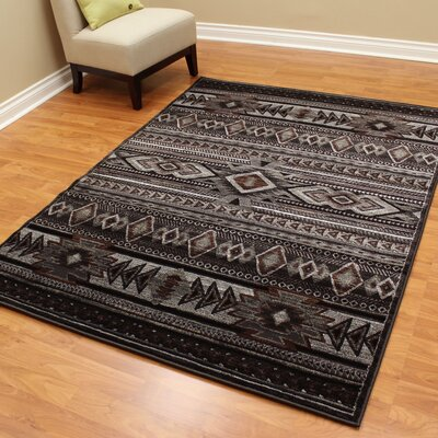 Cambridge Southwest Dark Gray Area Rug