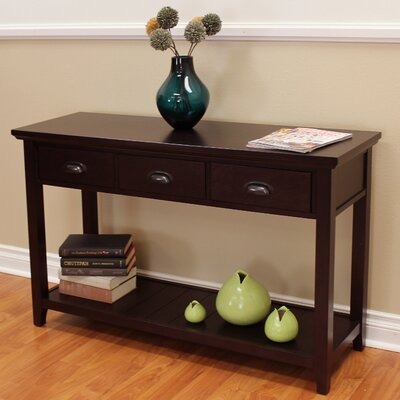 Dravin 3 Drawers Console Table