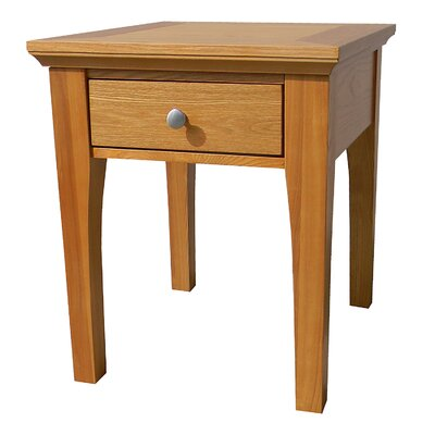 Lease to own Fraser End Table Finish: Golden Oak...