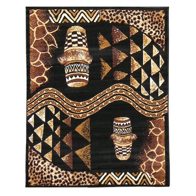 African Adventure Drums Novelty Rug Rug Size: 52 x 7