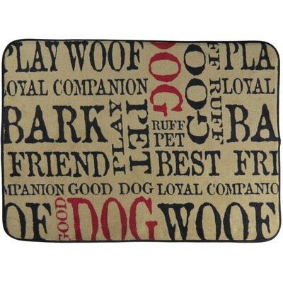 Good Memory Foam Dog Mat Size: 20 x 28 (Rectangle)