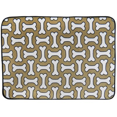 Treats Memory Foam Dog Mat Size: 20 x 28 (Rectangle)