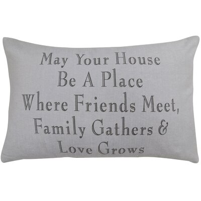 Family Gathers Pillow