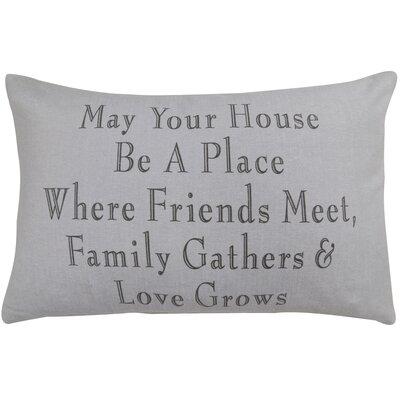 Family Gathers Pillow