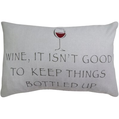 Bottled Wine Pillow