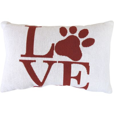 Vintage House Love Paw Tapestry Decorative Lumbar Pillow