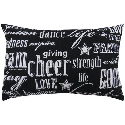 Vintage House Cheer Tapestry Lumbar Pillow