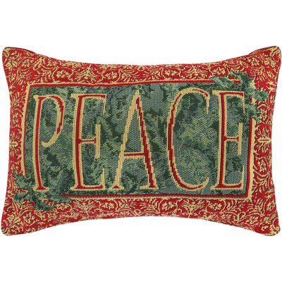 Vintage House Earthly Peace Tapestry Throw Pillow