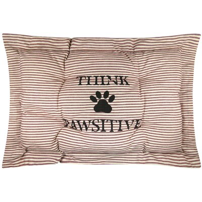 Metro Farmhouse Pawsitive Crate Futon Mat Color: Redwood