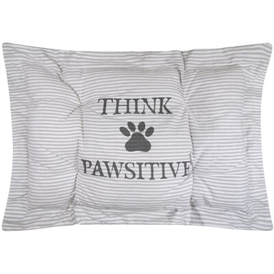 Metro Farmhouse Pawsitive Crate Futon Mat Color: Gray