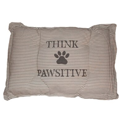Metro Farmhouse Pawsitive Crate Futon Mat Color: Linen