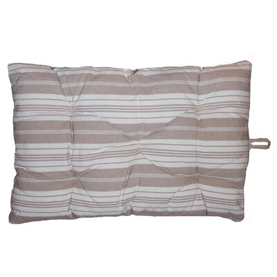 Metro Farmhouse Bonhuer Crate Futon Mat Size: 36 W x 23 D, Color: Gray